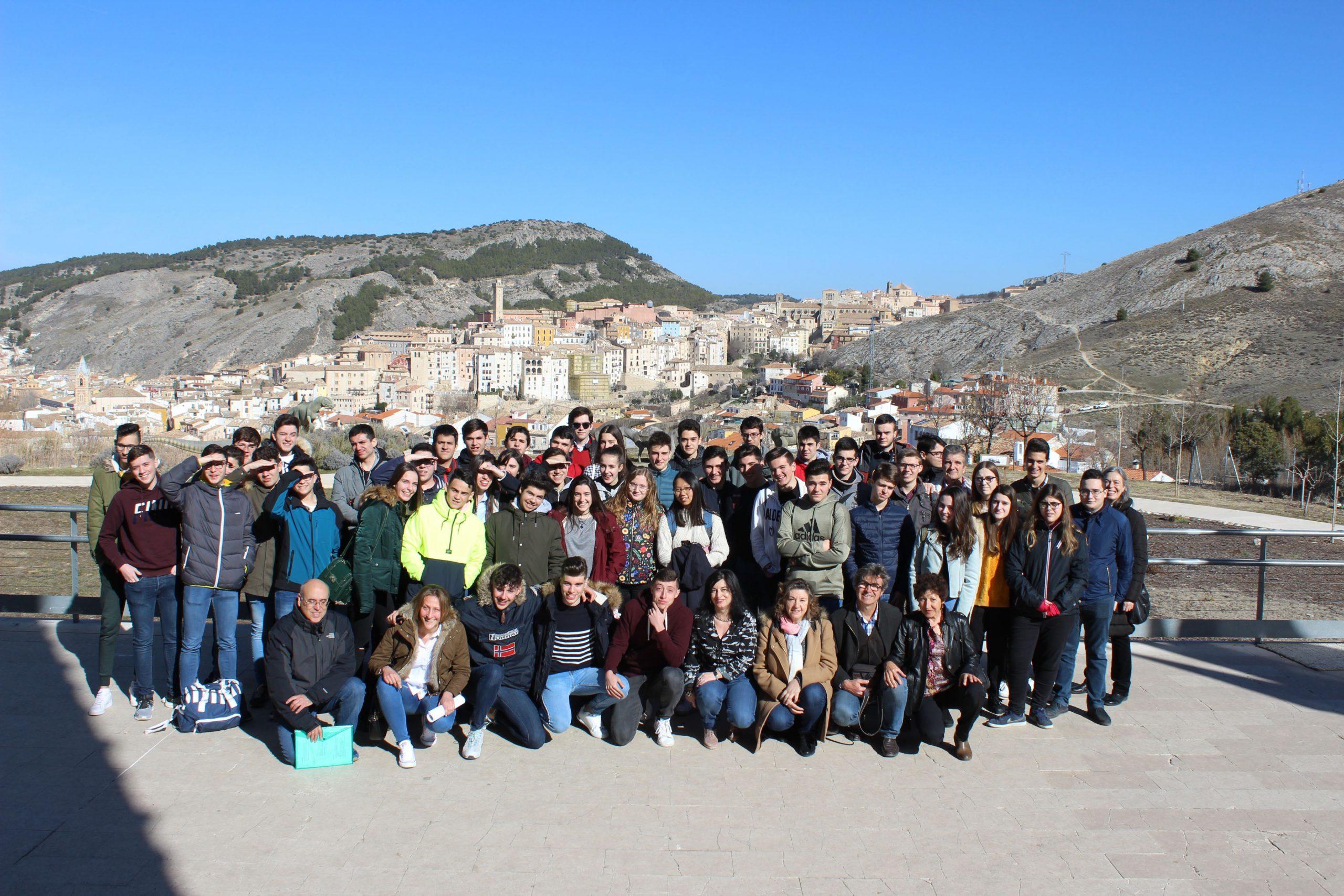 El Museo de Paleontología de C-LM acoge por tercer año consecutivo las pruebas de selección de la X Olimpiada de Geología de la provincia de Cuenca