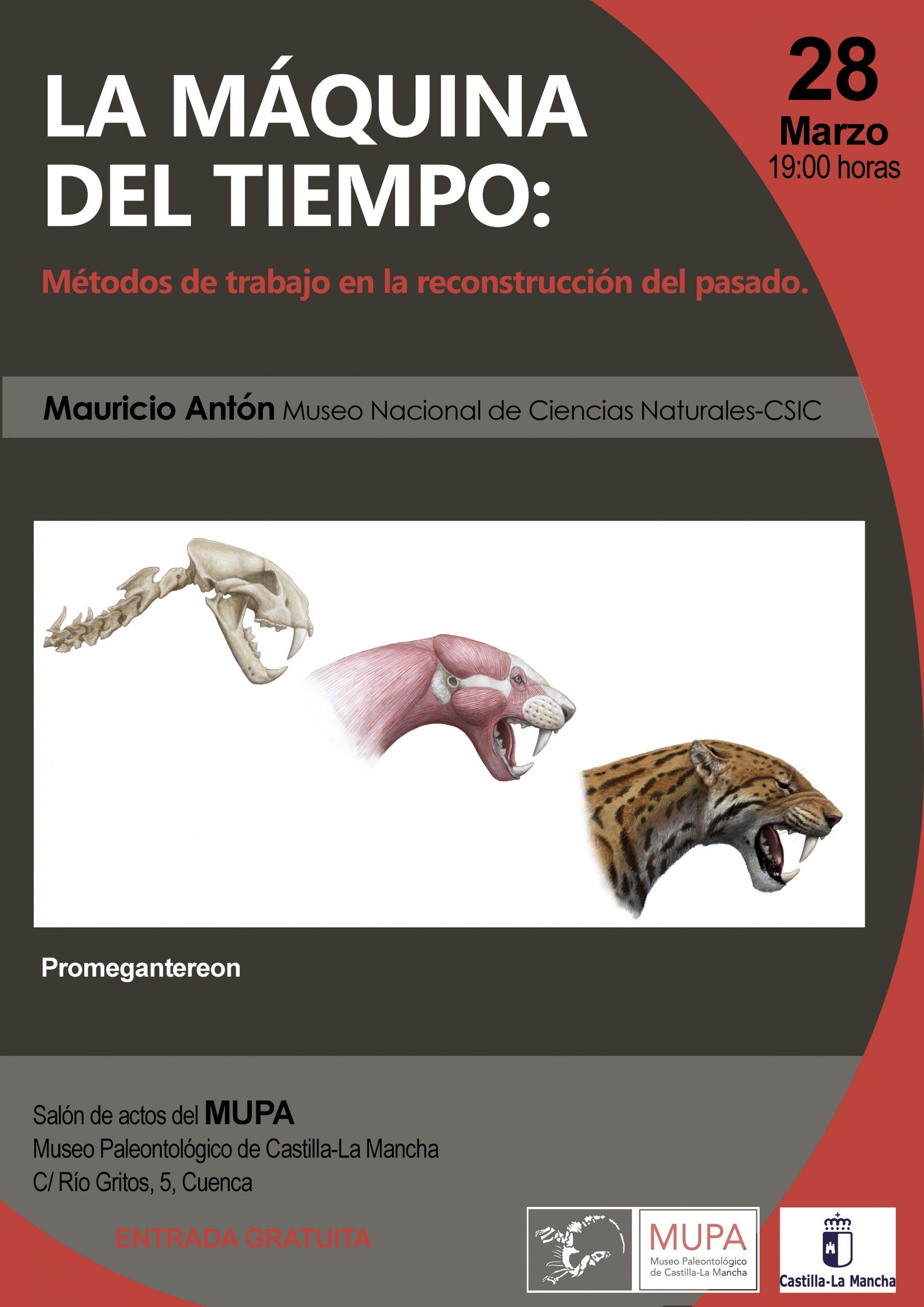 El Museo de Paleontología nos acerca el mundo de los fósiles a través de charlas científicas, esta vez se hablará de reconstrucciones paleontológicas.