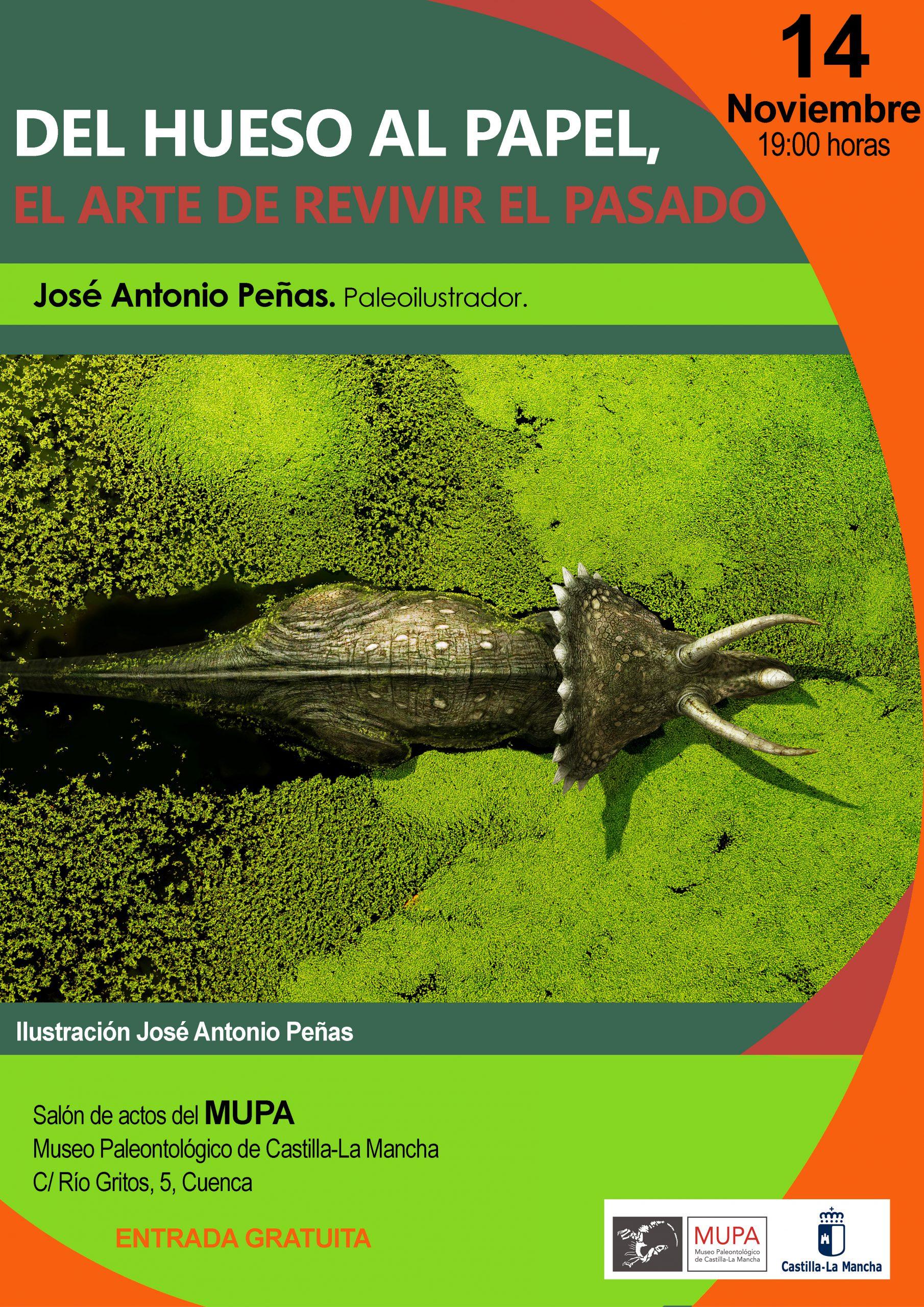 El Museo de Paleontología ofrece charlas científicas, en este mes de noviembre se hablará de paleoarte