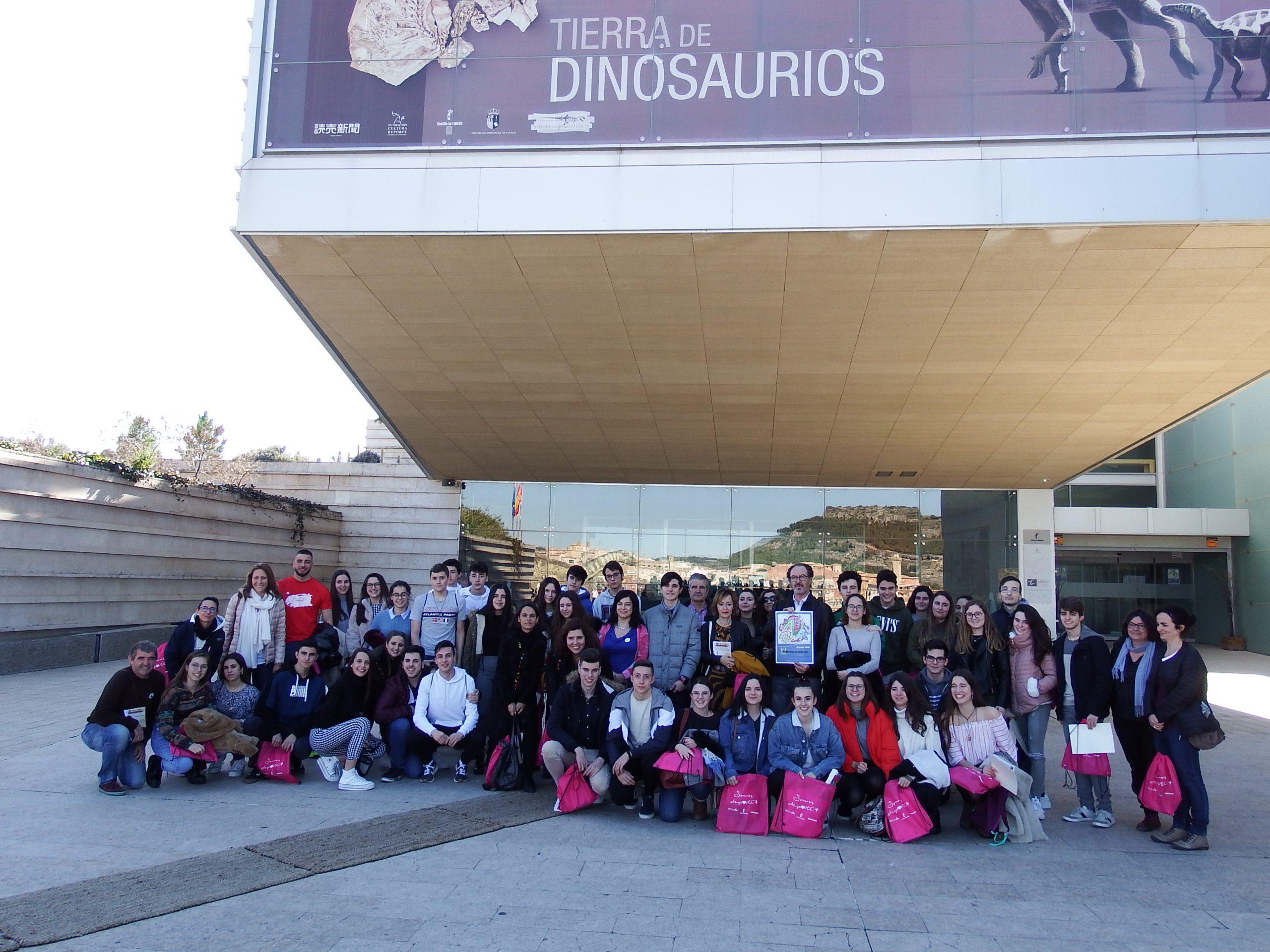 El Museo de Paleontología de C-LM celebró el pasado sábado las pruebas de selección de la XI Olimpiada de Geología
