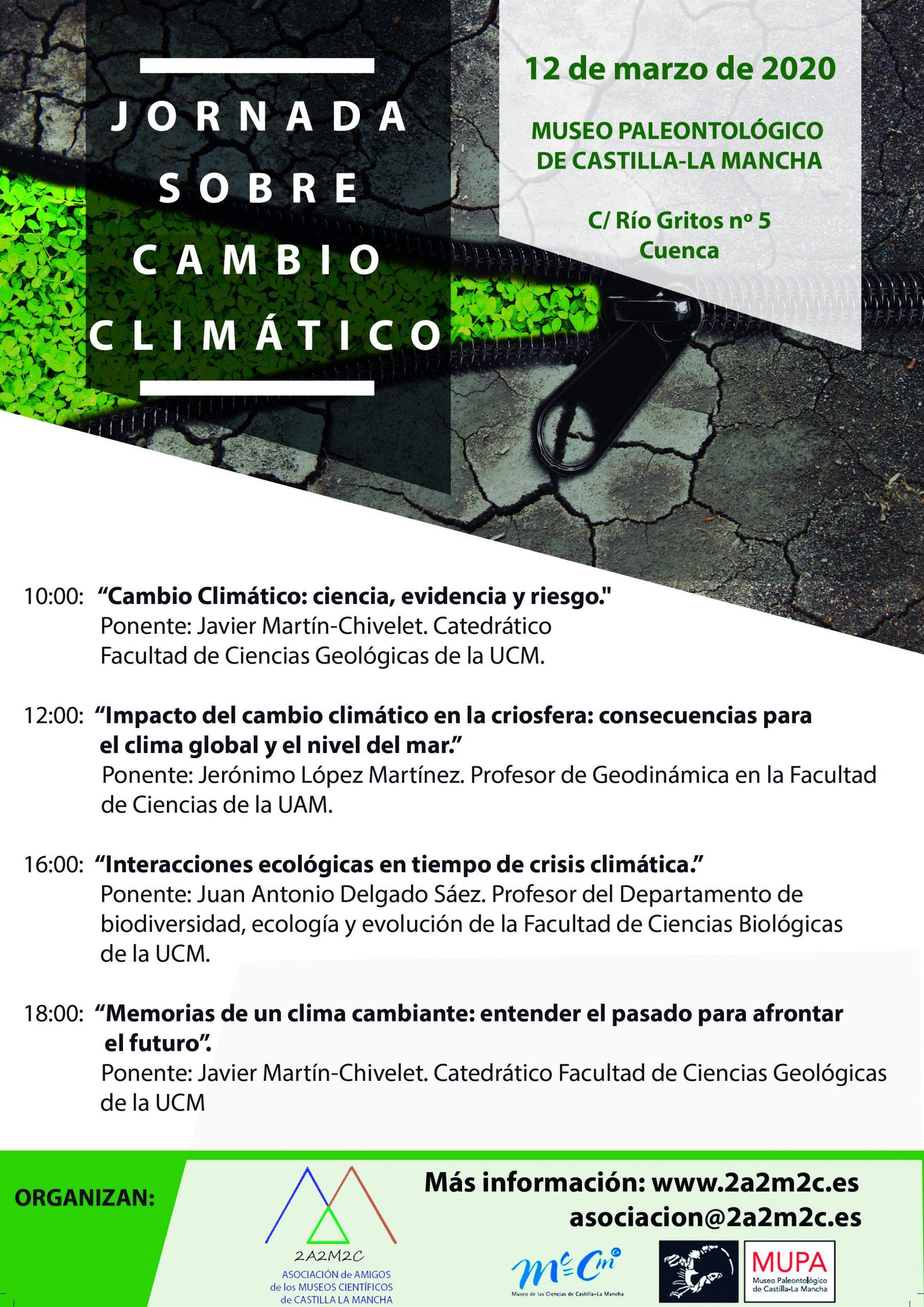 """""""Jornada sobre cambio climático"""" en el MUPA"""